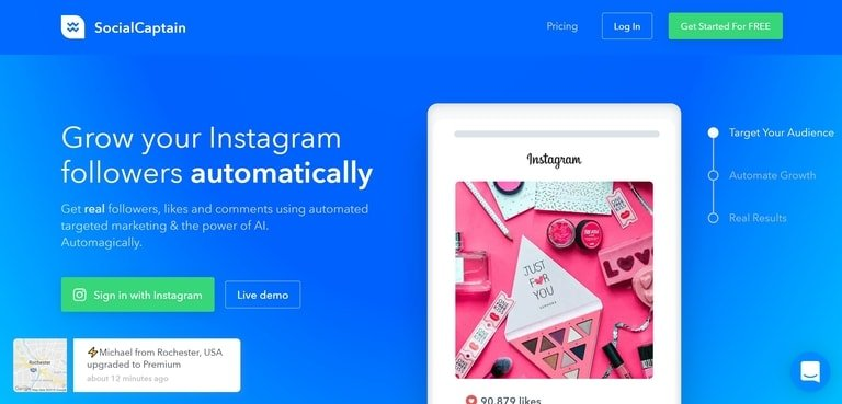 SocialCaptain Review - Instagram Blocks & Unsafe To Use?